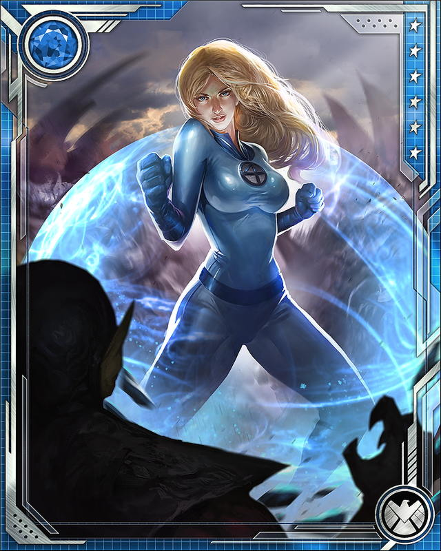First Family] I... Invisible Woman Powers