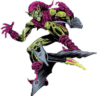 Duende Verde Spider Man