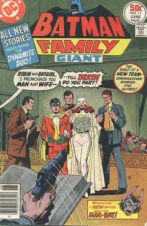 Cover for Batman Family #11 (1977)