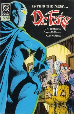 Cover for Doctor Fate #5 (1989)