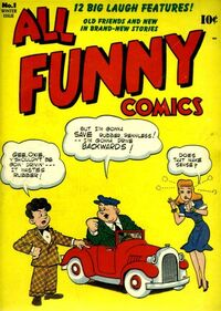 All Funny Comics Vol 1 1