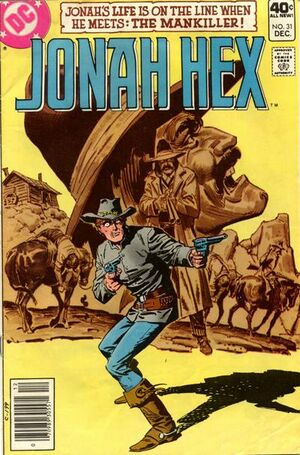 Cover for Jonah Hex #31 (1979)