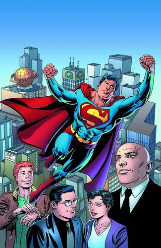 "Textless <a href=""/wiki/Jerry_Ordway"" title=""Jerry Ordway"">Ordway</a> Variant"