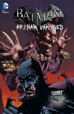 Cover for the Batman: Arkham Unhinged Vol. 3 Trade Paperback