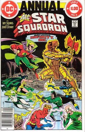 Cover for All-Star Squadron #Annual 2 (1983)