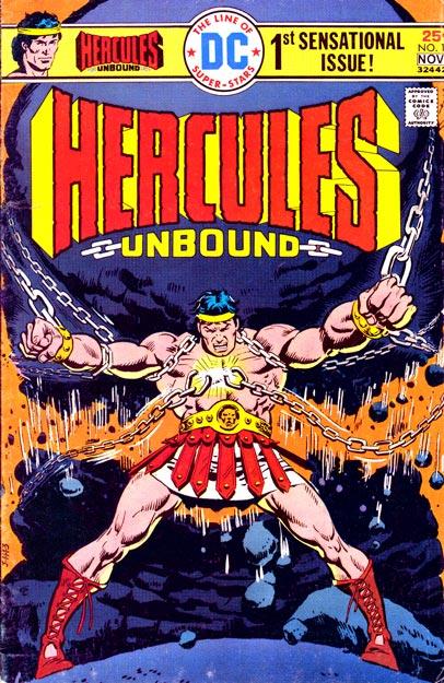 Cover di Hercules Unbound n. 1, disegni di José Luis García-López