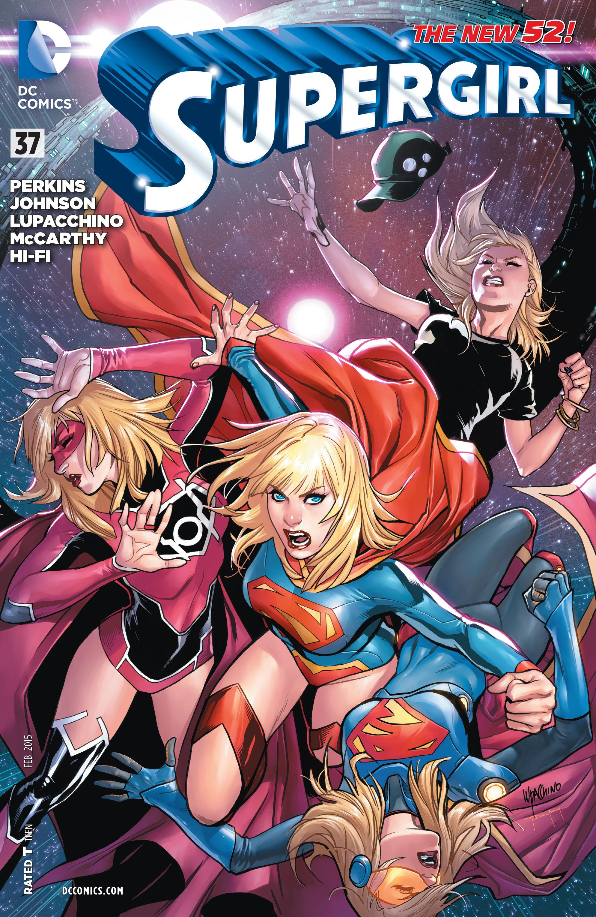 comic book porn power girl and supergirl