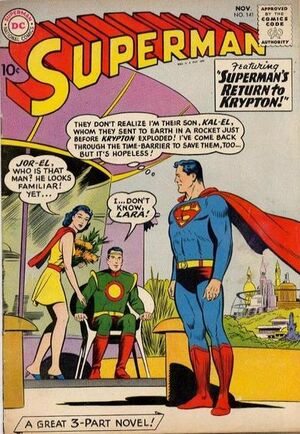 Cover for Superman #141 (1960)