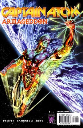 "Captain Atom: Armageddon #1; illustration by <a href=""/wiki/Alex_Ross"" title=""Alex Ross"">Alex Ross</a>"