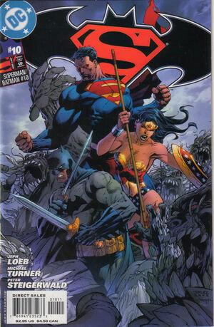 Cover for Superman/Batman #10 (2004)
