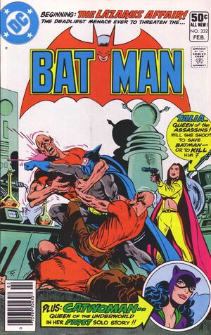 Cover for Batman #332 (1981)