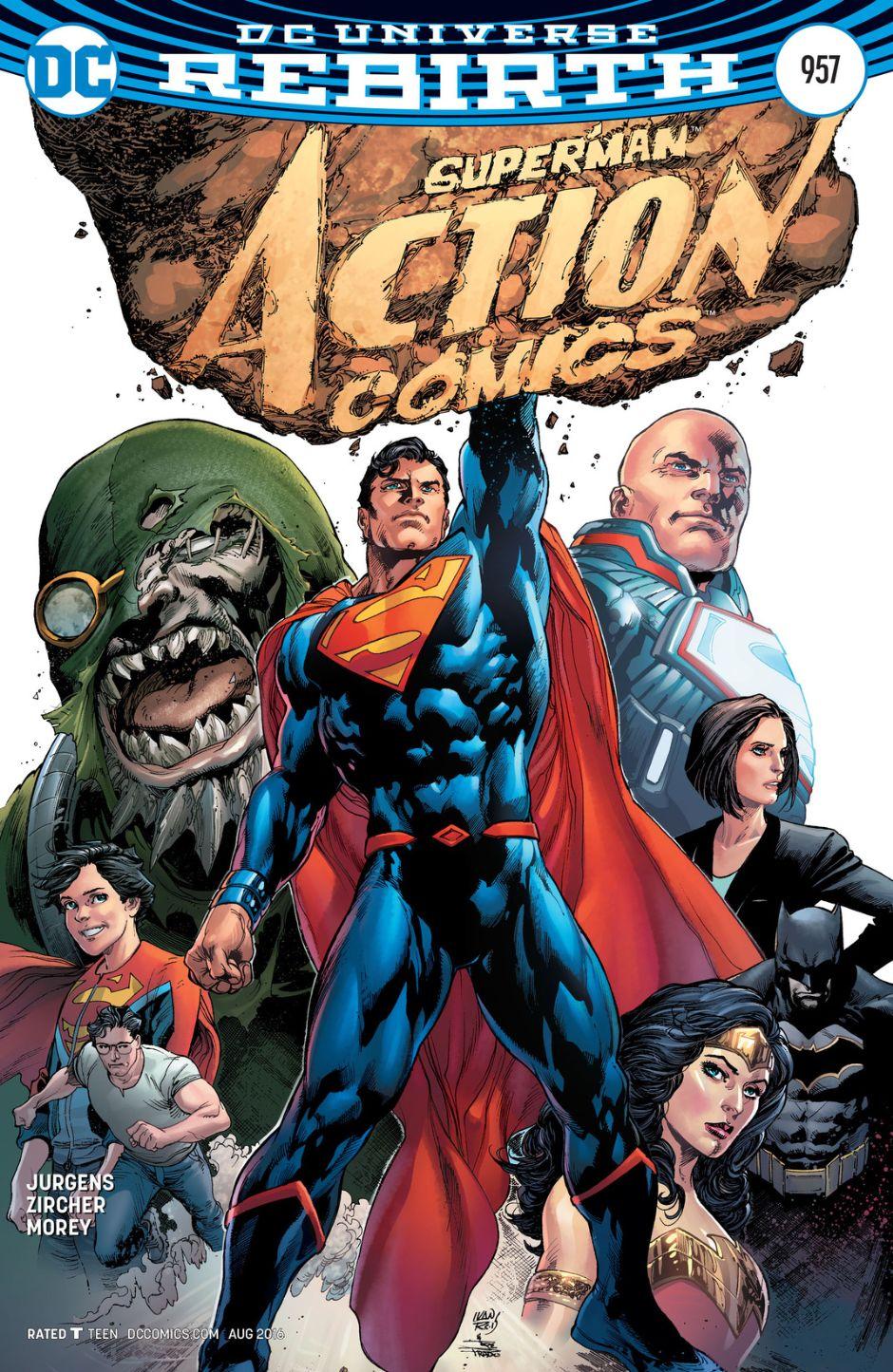 Resultado de imagen para action comics 957