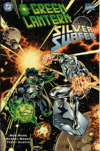 Image result for Green Lantern and Silver Surfer