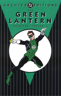 Cover for the The Green Lantern Archives Vol. 4 Trade Paperback