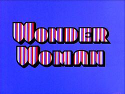 Wonder Woman 1974 Movie Title Card
