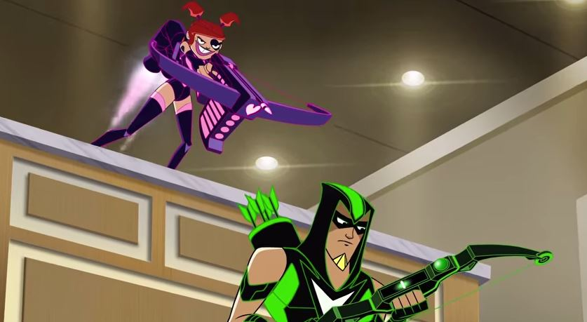 green arrow shorts episode cupid dc database fandom