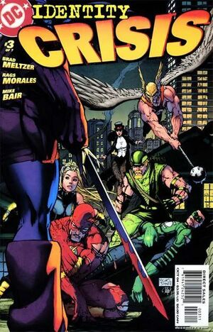Cover for Identity Crisis #3 (2004)