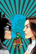 Talia's conflict with Batman leaves their caught son in the middle.
