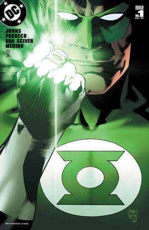 Cover for Green Lantern #1 (2005)