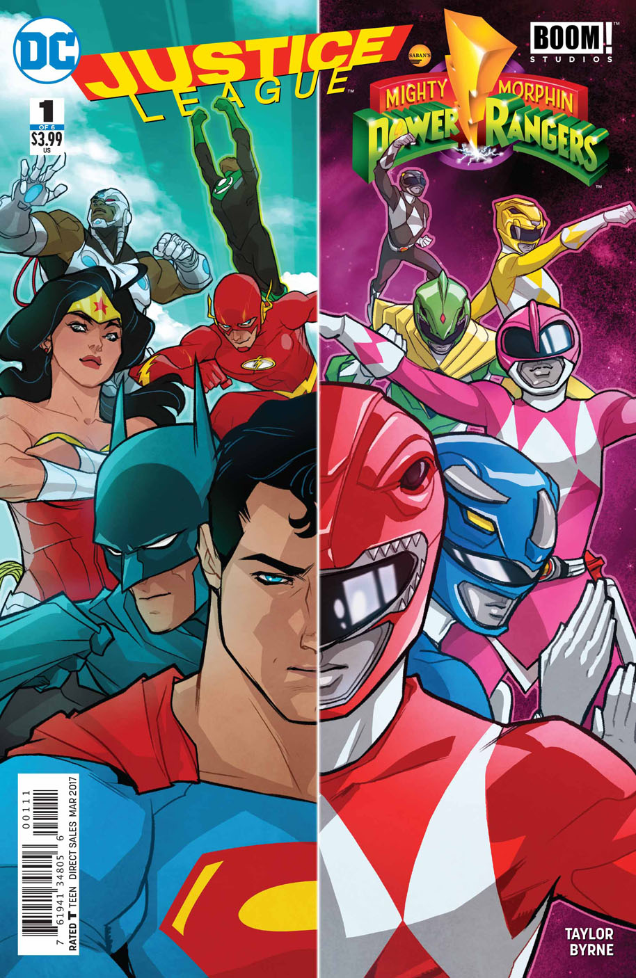 Justice League/Power Rangers Vol 1 1   DC Database ...