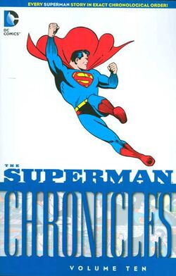 Cover for the Superman Chronicles Vol. 10 Trade Paperback