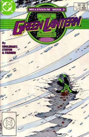 Cover for Green Lantern Corps #220 (1988)