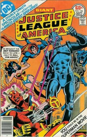 Cover for Justice League of America #146 (1977)