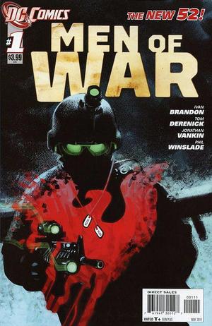 Cover for Men of War #1 (2011)
