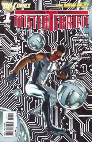 Cover for Mister Terrific #1 (2011)