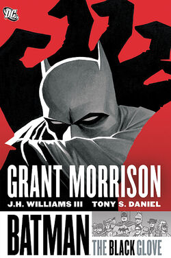 Cover for the Batman: The Black Glove Trade Paperback