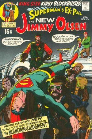 Cover for Superman's Pal, Jimmy Olsen #134 (1970)