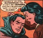 "Lois unmasks ""Batman"" as Clark Kent"