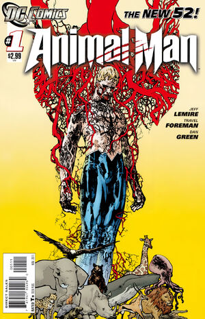 Cover for Animal Man #1 (2011)