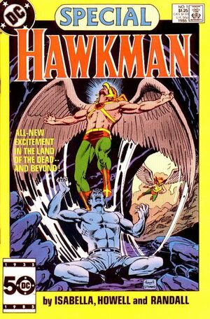 Cover for Hawkman Special #1 (1986)