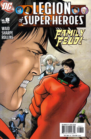 Cover for Legion of Super-Heroes #8 (2005)