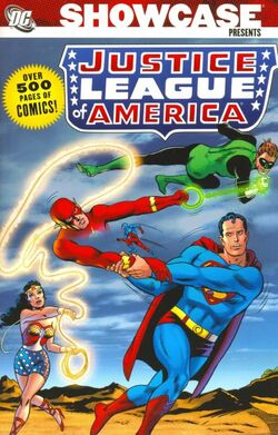 Cover for the Showcase Presents: Justice League of America Vol. 2 Trade Paperback
