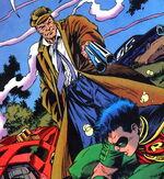 """Shotgun confronts a """"Speedboy"""""""