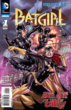 Cover for Batgirl Annual #1 (2012)