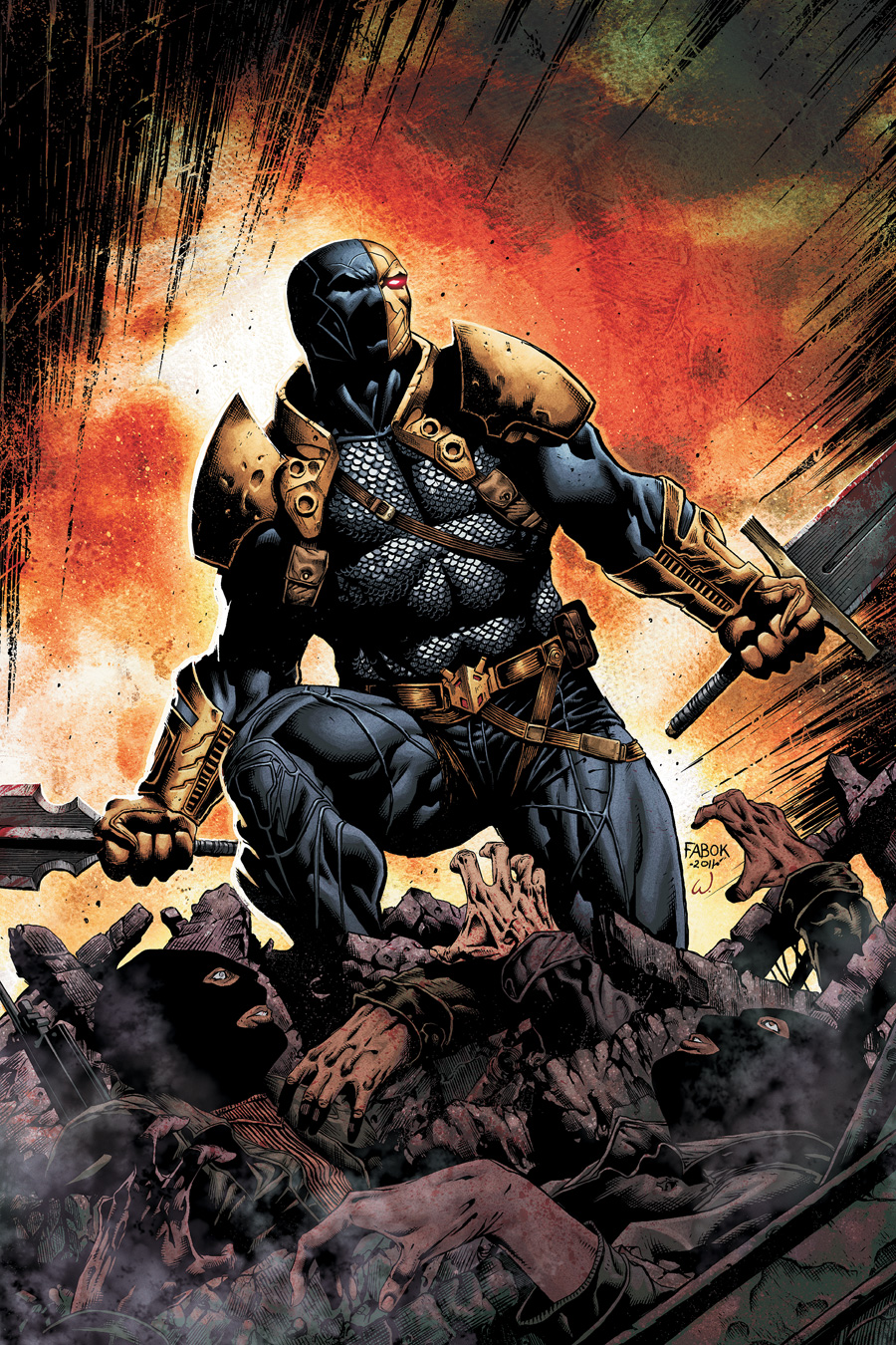 7 Batman Villains That Need To Be In A Solo Movie Deathstroke Slade Wilson RIPT Apparel Blog