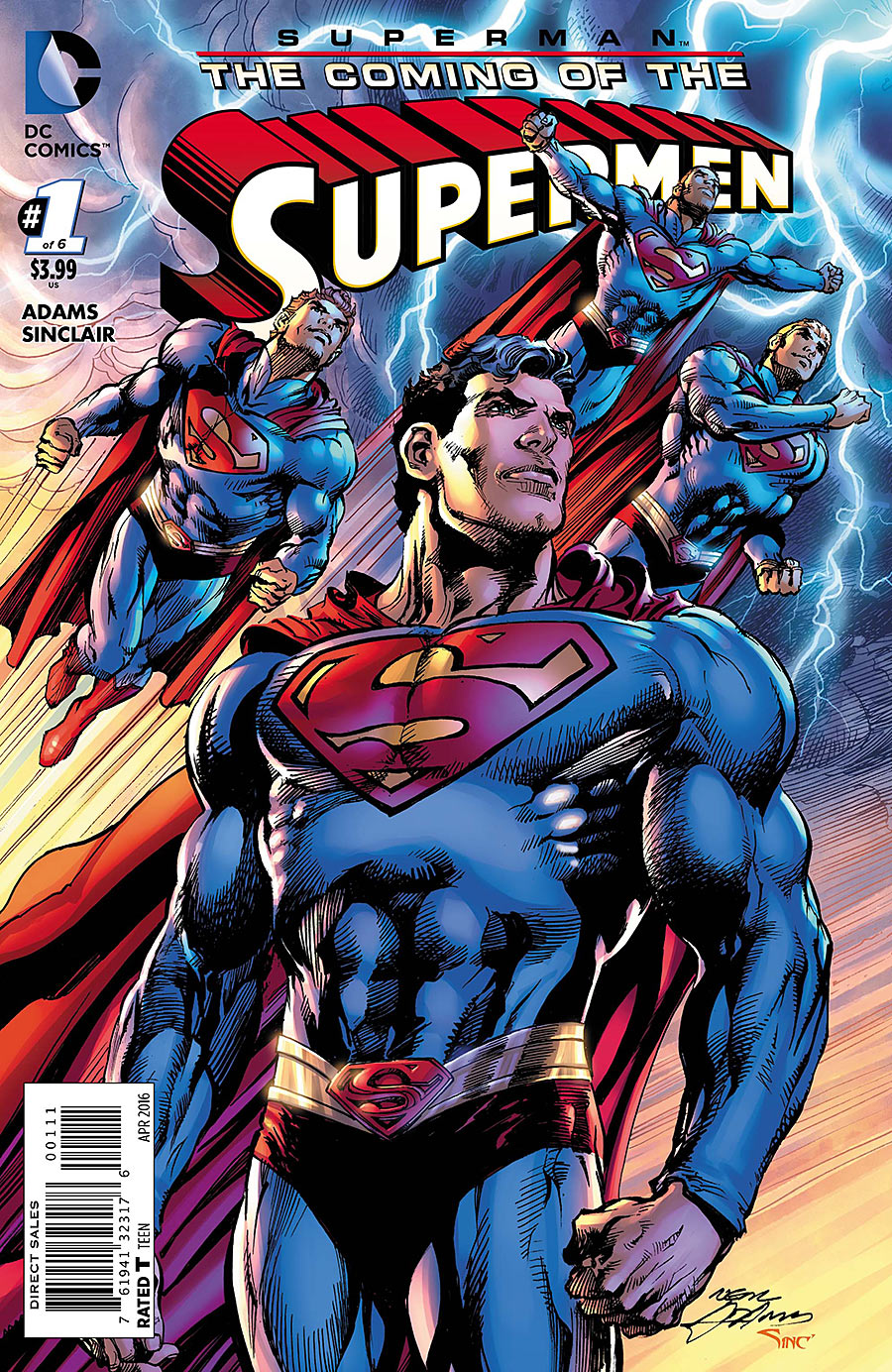 Superman: The Coming of the Supermen Vol 1 1 | DC Database | FANDOM powered by Wikia