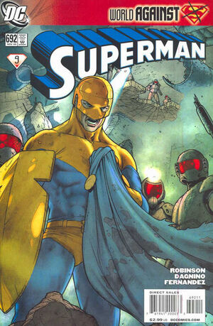 Cover for Superman #692 (2009)