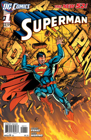 Cover for Superman #1 (2011)
