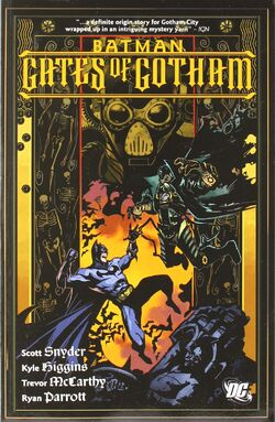Cover for the Batman: Gates of Gotham Trade Paperback
