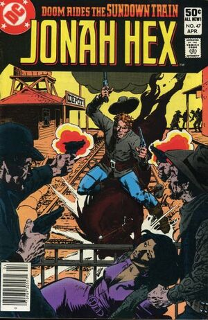 Cover for Jonah Hex #47 (1981)