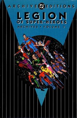 Cover for the Legion of Super-Heroes Archives Vol. 7 Trade Paperback