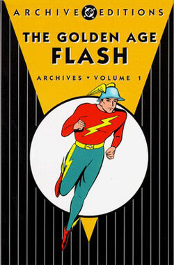 Cover for the The Golden Age Flash Archives Vol. 1 Trade Paperback