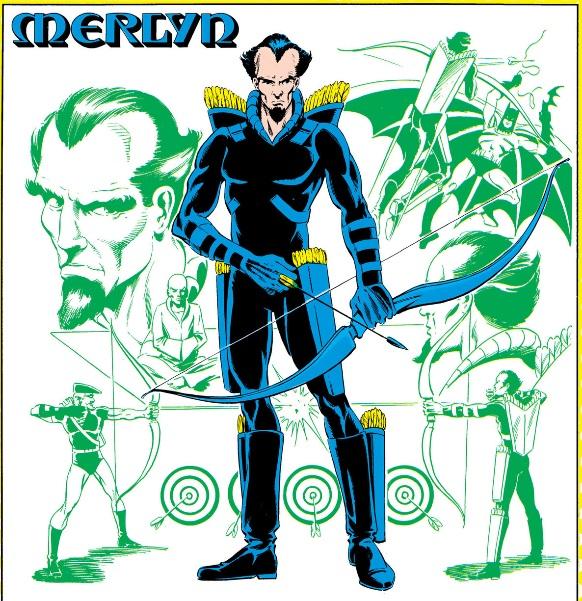 Image result for merlyn arthur king dc comics