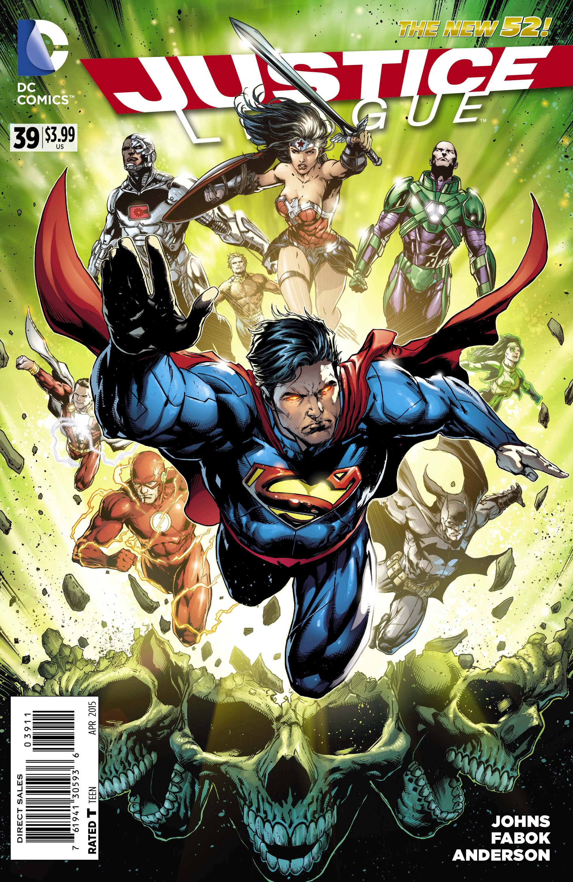 Justice League New 52 Covers