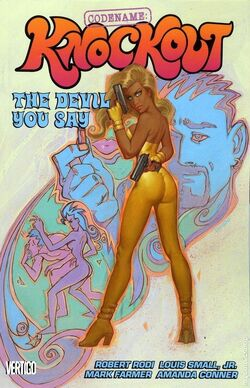 Cover for the Codename: Knockout: The Devil You Say Trade Paperback