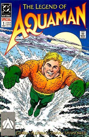 Cover for Legend of Aquaman #1 (1989)